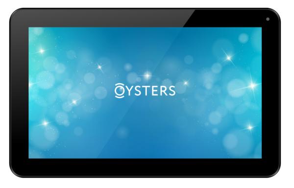 Планшет Oysters модель T104B 3G