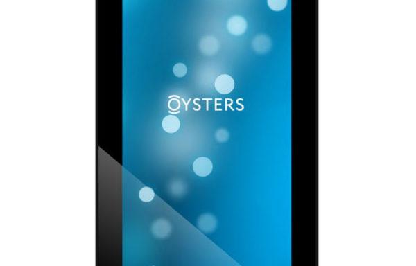 Планшет Oysters модель T72MS